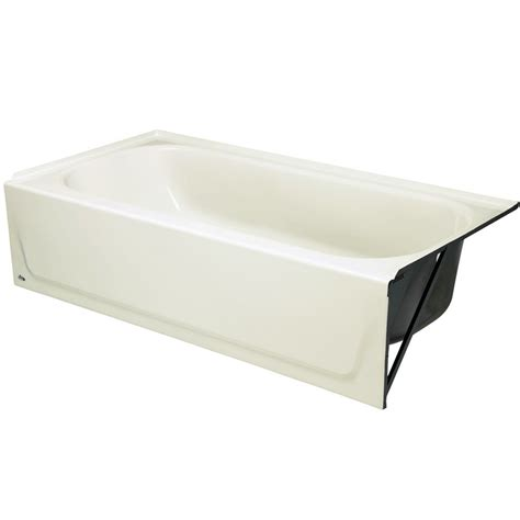 right hand bathtub bootz mapleleaf 5 feet bathtub with right hand drain in