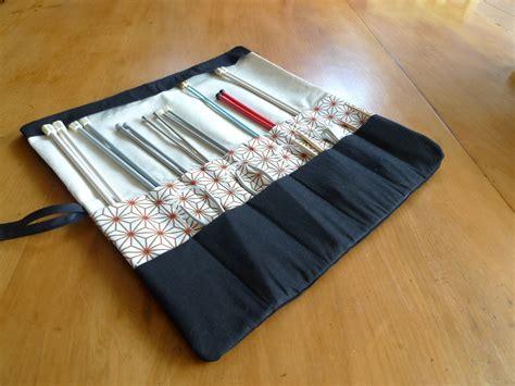 how to make a knitting needle roll knitting needle roll organiser starburst felt