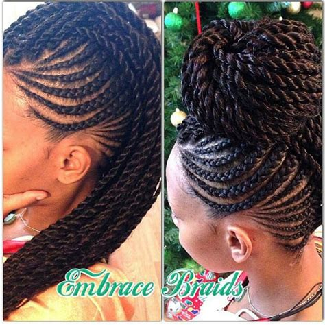 images of hair braiding in a mohalk black hair braids on pinterest black women braids micro
