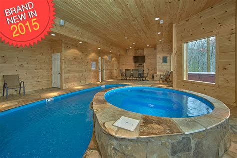Cottages To Rent With Indoor Pool by 4 Bedroom Sleeps 16 Cooper S Cove By Large Cabin Rentals