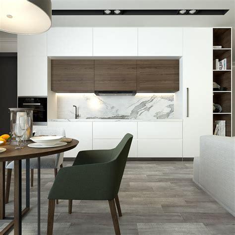interieur design kleine ruimtes interior design flat on behance cocina pinterest