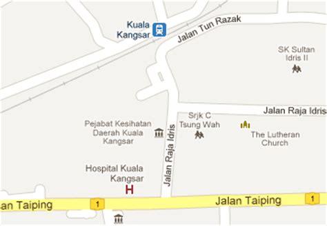 Ktm Intercity Map Kuala Kangsar Railway Station Mrt My