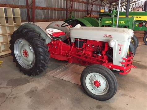 tractor of the week 1955 ford model 600
