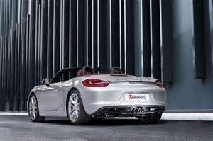 Porsche Boxster 981 Sports Exhaust Akrapovic Sport Exhaust For Porsche Boxster 981 Akrapovic