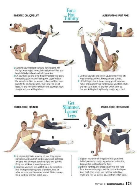 flat tummy exercises pictures   images