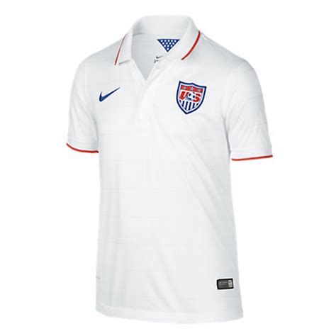 Baju Kerahkaos Polo Nike sale 39 95 nike youth usa 2014 home replica soccer jersey football white royal