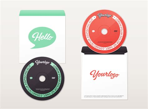 dvd envelope mockup graphicburger