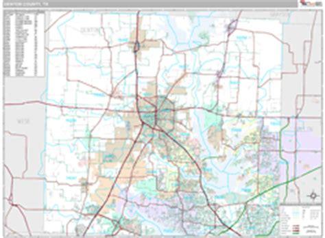 denton texas zip code map denton county tx wall map premium style by marketmaps
