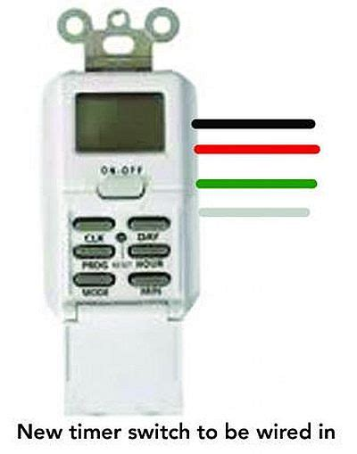 digital timer switch wiring diagram image collections