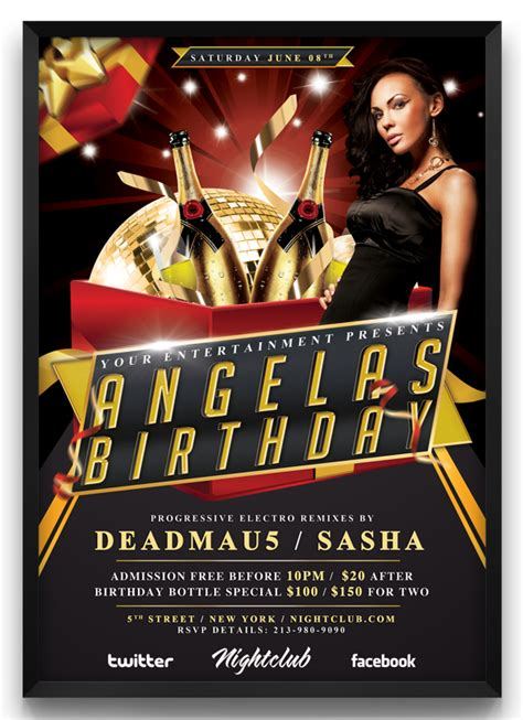 birthday flyer templates free 17 birthday bash psd templates images birthday bash flyer templates birthday flyer