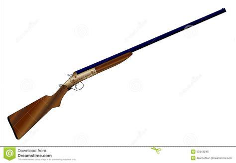 jachtgeweer vergunning jachtgeweer stock illustratie afbeelding 52341245
