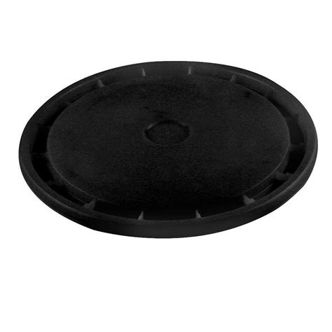 leaktite 5 gal black reusable easy lid 30 pack