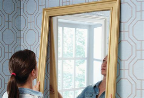 how to hang a framed bathroom mirror hanging a bath mirror at the home depot