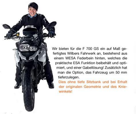Bmw F800gs Tieferlegen by Produktvorstellung Wilbers Wesa Bmw F 700 Gs