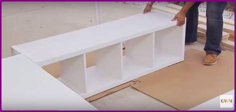 diy platform bed ikea hack pictures reference πώς να φτιάξετε κρεβάτι απο ραφιέρες ικεα kallax