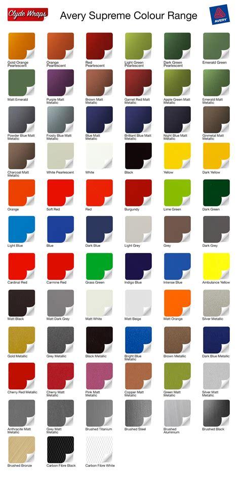 wrap colors colour change vinyl wraps clyde wraps