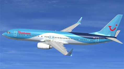 Thomson 737 800 Cabin by Thomson Airways Livery For Default 737 800