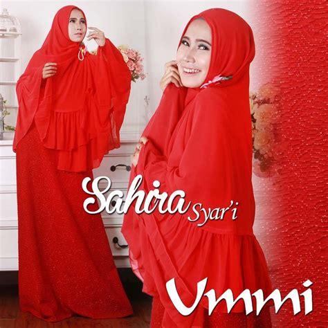 Sahira Syari by Gaun Muslimah Modern Gamis Syari Busui Terbaru Sahira