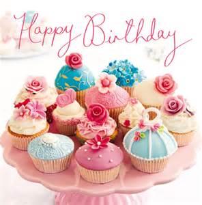 woodmansterne b happy birthday cupcake card funky pigeon