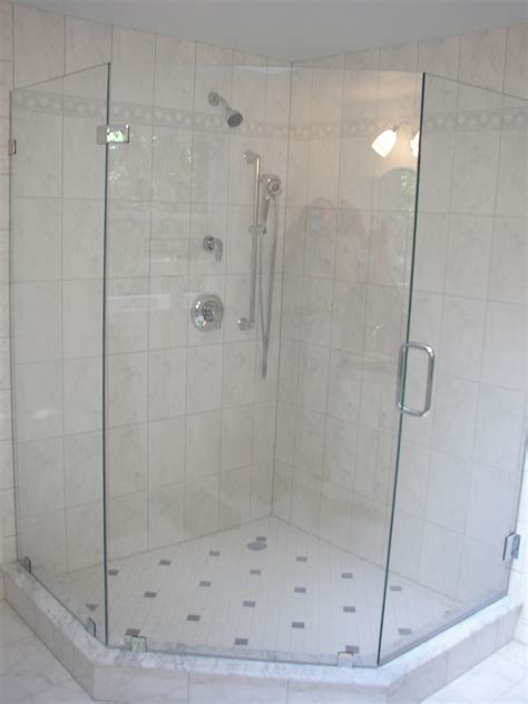 Angled Glass Shower Doors Neo Angle Shower Enclosure Quotes