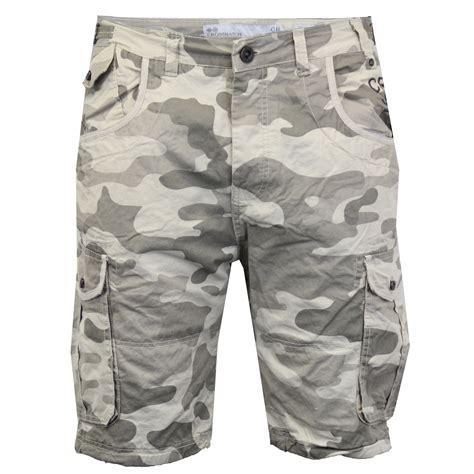Celana Cargo Army Belt mens crosshatch camouflage shorts cargo combat belt knee length