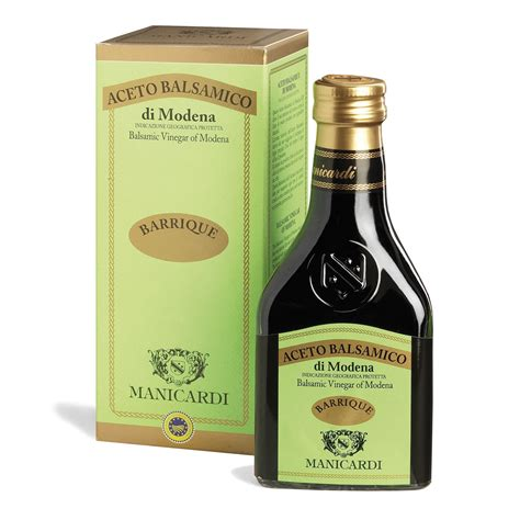 barrique balsamic vinegar  modena manicardi
