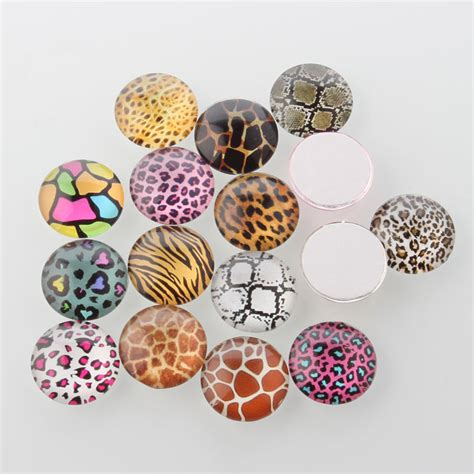 life printed half round dome glass cabochons mixed color 14x5mm ebay craft printed glass cabochons half round dome mixed color