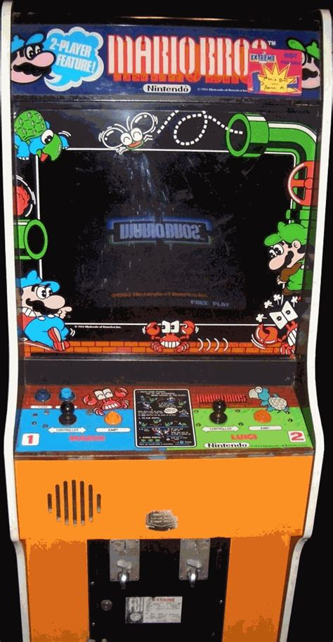 emuparadise arcade mario bros us set 1 rom