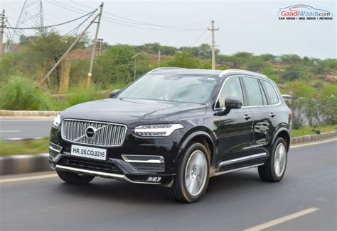 volvo xc inscription price hiked   rs  lakh