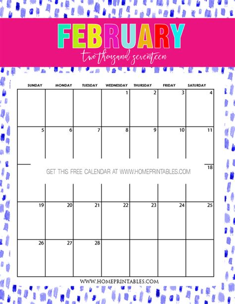 printable calendar 2016 au printable february 2016 calendar with blocks calendar