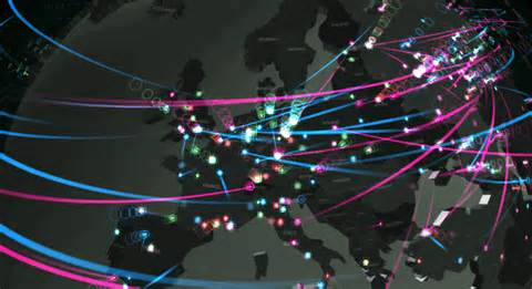 network attack map cyber attacks in real time