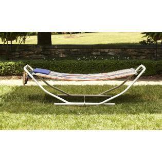 Kmart Hammock garden oasis folding hammock outdoor living patio