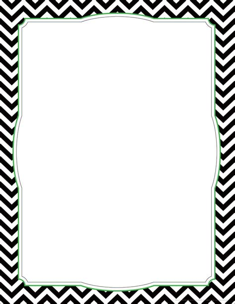 free chevron border template for word chevron borders clipart free large images school