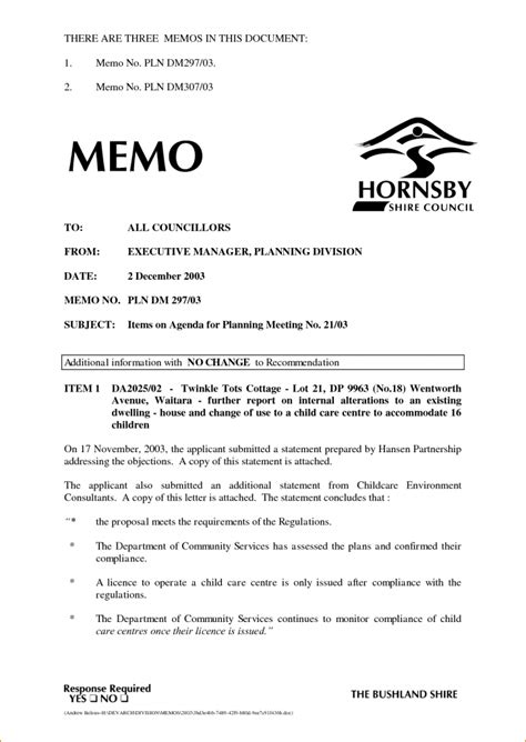 briefing memo template template executive memo template