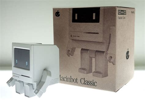 Macintosh Smiling Computer Mousepad by Macinbot Classic Think Different About Your