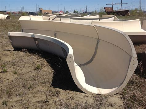 Water Slide Sections by Amusement Park Ride Product Center Equipment