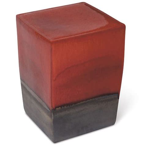 Square Garden Stool by Seasonal Living Square Ceramic Garden Stool And Table