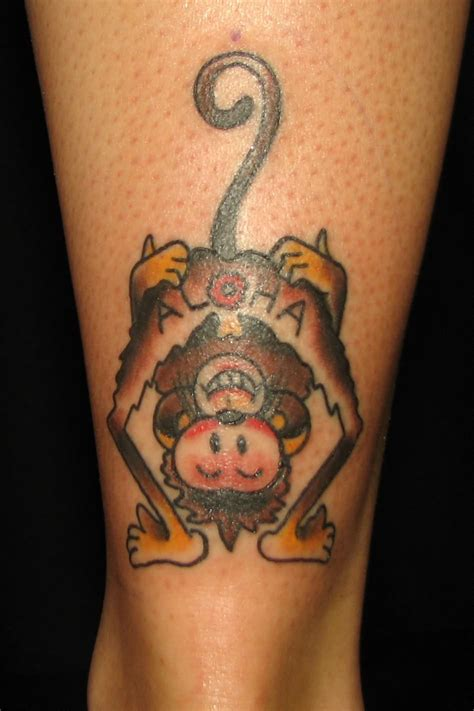 monkey tattoos best tattoos seen monkey designs