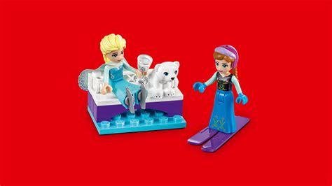 amazoncom lego  disney frozen anna elsas frozen playground  disney princess toy toys