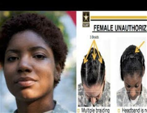 army regulation for women haircuts army ordered to review controversial hair policy
