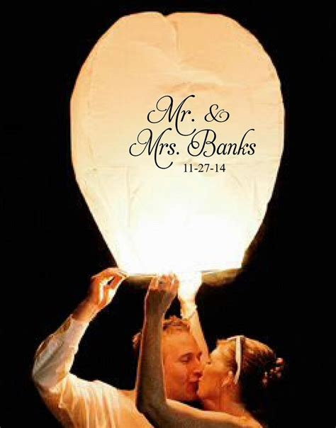Wedding Wishes Lanterns by 25 Best Ideas About Sky Lanterns Wedding On