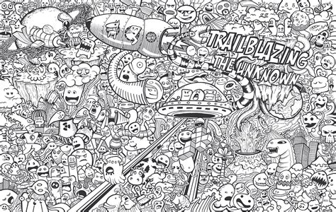 doodle on wall wall doodles on behance