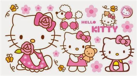 tempat jual wallpaper hello kitty gambar wallpaper dinding hello kitty untuk ruang tamu dan