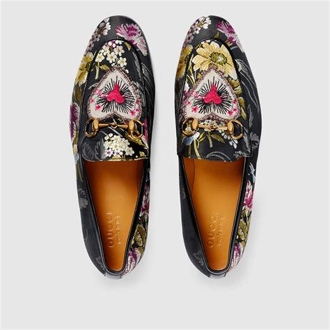gucci floral loafers gucci jordaan floral jacquard loafer gucci s