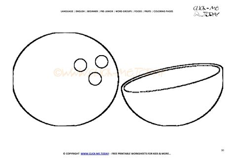 coconut card template coconut coloring page free printable coconut cut out
