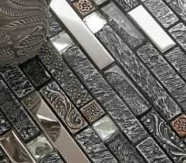 stainless steel backsplash glass ceramic tiles