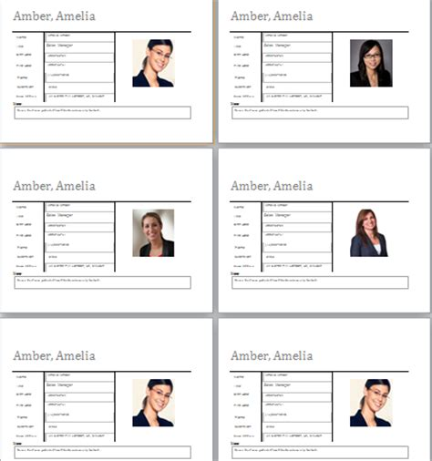 office employee profile sheet document hub