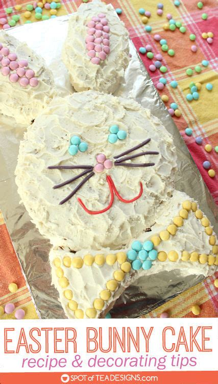 easter bunny cake recipe  decorating tips
