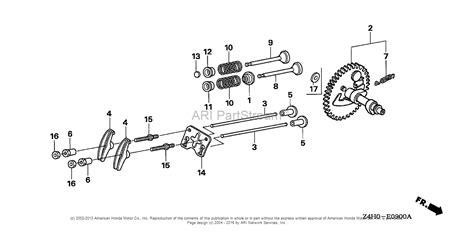 honda engines gxrt ar engine tha vin gcbmt  parts diagram  camshaft