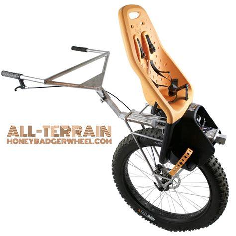 road stroller honey badger wheel all terrain road stroller for